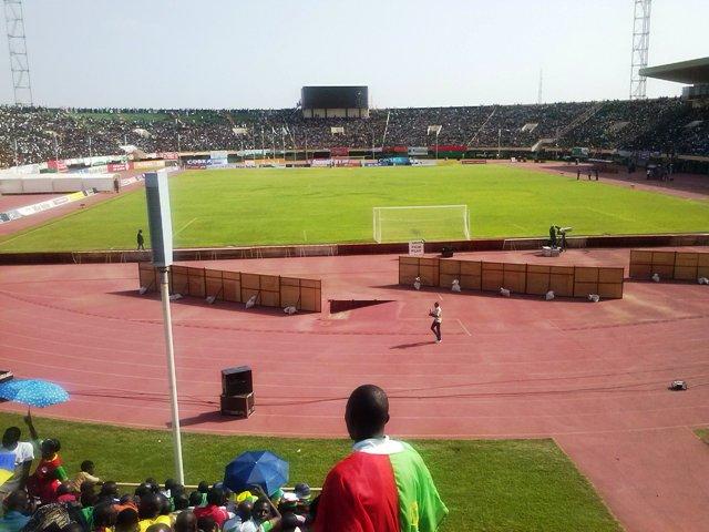 Le Stade du 4-Août, le 12 octobre 2013 (Ph: Burkina 24)