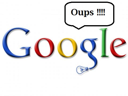 Google oups