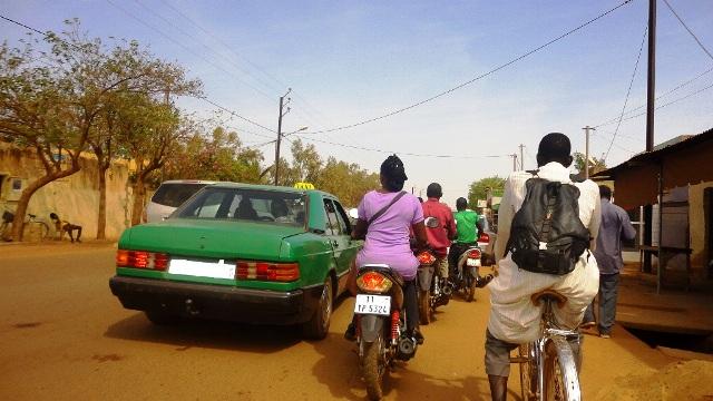 Un taxi à Ouaga (Ph : Zatibagnan)